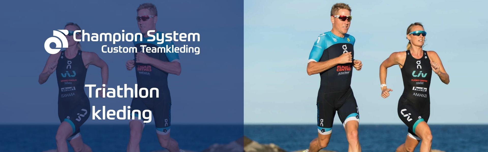 Custom Champion Sytem Triathlon kleding